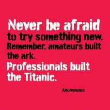 never be afraid