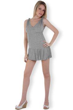 Abbigliamento da donna   http://www.abbigliamentodadonna.it/mini-abito-donna-viscosa-p-120.html  Cod.Art.000291 - Mini abito da donna realizzato in viscosa elasticizzata, modello senza maniche caratterizzato da ampia scollatura sul decolte' per una donna giovane, moderna e sexy.