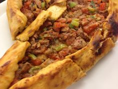 トルコ風ピザ
