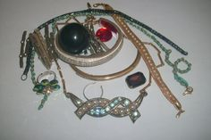 Costume Jewelry Lot for Crafts Repairs Detash by MICSJWL on Etsy, $5.00
