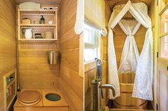 Woman builds a lovely and completely self-sustainable home