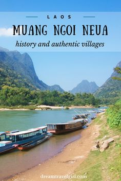 Muang Ngoi Neua is an off the beaten path village in northern Laos. It's only accessible by boat from Nong Khiaw and Muang Khoa, beautiful and surprising.