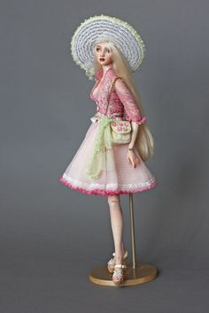 Ingenue dolls by Natalya Lituta                http://ingenuedolls.com/   Charmian is a costumed Porcelain Ball Jointed Doll (she is the doll of my City Girl Collection).  Charmian in Doll Collector Magazine June/July 2014 http://ingenuedolls.com/press/