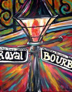 Bourbon street art