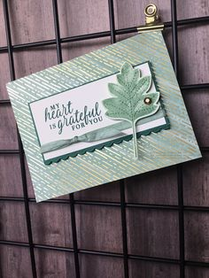 Leaf Cards, 3d Cards, Scrapbooking, Thanksgiving Cards, Fall Cards, Cards For Friends, Paper Design, Homemade Cards, Stampin Up Cards