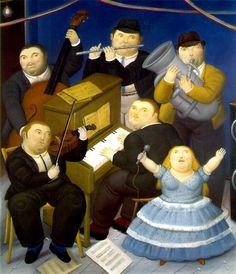 principles of art unity Fernando Botero, The Musicians, 1991 Unity In Art, Moritz Von Schwind, Frida Diego, Art Deco, Principles Of Design, Chef D Oeuvre, Naive Art, Art Oil, Belle Photo
