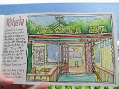 Draw Daily: Drawing on the Big Island