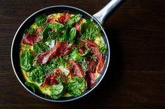 Topp omeletten med gode råvarer. Foto Tommy Andresen