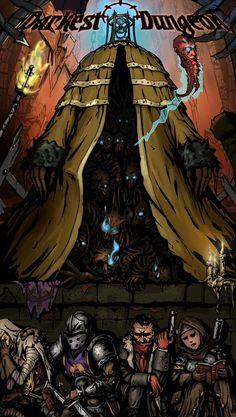 Post with 1745 votes and 40848 views.The Darkest Dungeon! Creepy Horror, Horror Art, Dark Paladin, Darkest Dungeon, Creature Concept Art, Dungeons And Dragons, Dark Dungeons, Cthulhu, Dark Souls