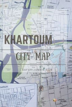 Khartoum City Map