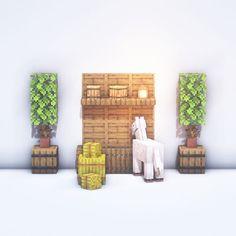 Minecraft Create, Minecraft Small House, Casa Medieval Minecraft, Minecraft Cottage, Easy Minecraft Houses, All Minecraft, Minecraft Room, Minecraft Decorations, Minecraft Construction