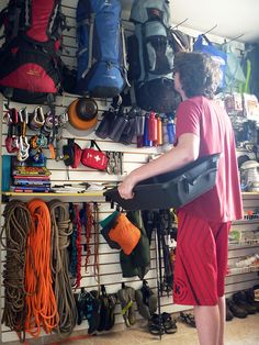 Private outdoors gear room http://www.newlookmegastore.com/