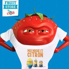 #OasisFan2MMM2 Oasis, Fruit, Ronald Mcdonald, Fictional Characters, Lemon, The Fruit