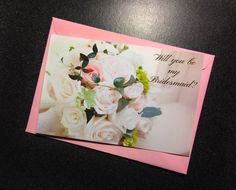 Will you be my Bridesmaid card bridesmaid by LilyLilesWeddingco https://www.etsy.com/listing/211935699/will-you-be-my-bridesmaid-card?