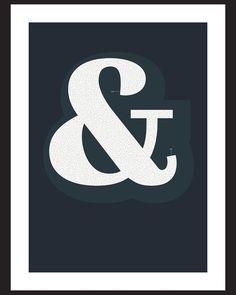 Ampersand #1 in blue #mazeart #ampersand #typography #typographyart #artwork #print #interactiveart http://ift.tt/1OGs0nI