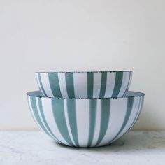 Gorgeous Cathrineholm bowls each sold separately, these have been well loved so you won't be afraid to use them yourself! Priced to reflect condition and recently further reduced. Love this color!