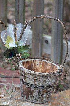 diy rustic flower girl basket - Yahoo! Search Results