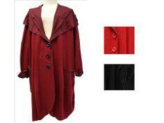 AKH Fashion eleganter langer Mantel große Größen bei www.modeolymp.lafeo.de