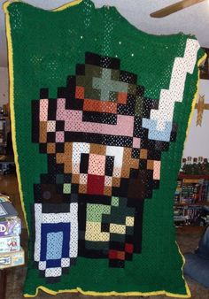 Link to the Past Pixel Blanket by RamblerOwl on deviantART
