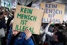 München: Abschiebung nach Afghanistan - Protest am Flughafen - SPIEGEL ONLINE - Politik