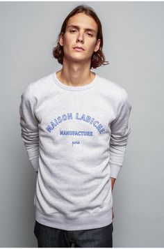 Manufacture sweatshirt - MAISON LABICHE My Eyes, Sweatshirt, Sweater Shirt,  Trainers 17bbb3900748