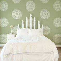 Wall Motif Elizabeth Lace Doily Stencil | Royal Design Studio
