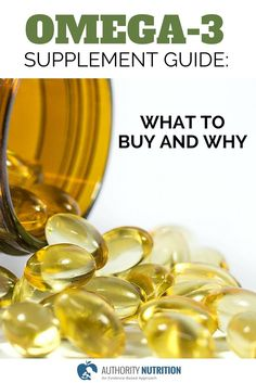 There are many choices when it comes to omega-3 supplements. This guide walks you through the different types, explaining what to buy and why. Learn more here: http://authoritynutrition.com/omega-3-supplement-guide/