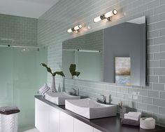 Payne 2 Light Bathroom Wall Light, by the USA's Feiss. #bathroomvanitylight