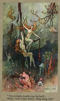 Warwick Goble illust. from 'The Book of Fairy Poetry', Dora Owen 1920