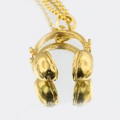 Earphones worthy of hanging around your neck    Fab.com | Headphones Necklace - by FSMNYC