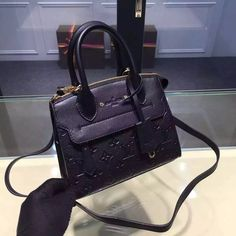 Louis Vuitton Pont-Neuf Mini Bag M41743 Black 2016