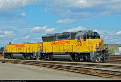 RailPictures.Net Photo: UPY 3001 Union Pacific GP59ECO at Portland, Oregon by M. S. Repp