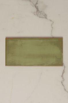Code: TT0208 Colour: Green Finish: Matt Type: Tile Material: Ceramic Size: 100mm x 200mm Shape: Rectangle Look: Subway Pattern: Subway Thickness: 7mm Walls: Bathroom Walls, Kitchen Splashback, Feature Walls Origin: Made In Italy Glazed Ceramic Tile, Ceramic Subway Tile, Subway Tiles, Green Subway Tile, Green Tiles, Brick Bonds, Italian Tiles, Tiles Online, Splashback