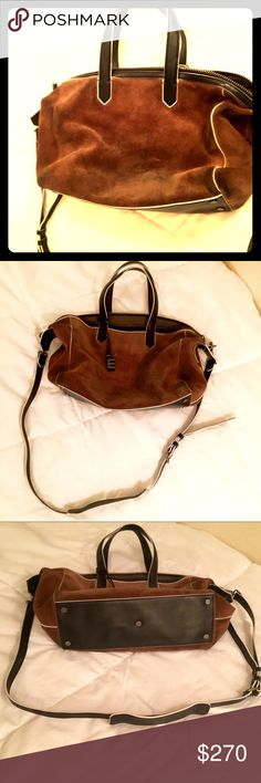 Elizabeth and James Scott suede duffel crossbody More pics for you!! Don't buy this listing. Elizabeth and James Bags Crossbody Bags