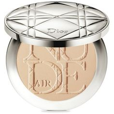 Dior Light Beige Diorskin Nude Air Powder Healthy Glow Invisible... (€50) ❤ liked on Polyvore featuring beauty products, makeup, face makeup, face powder, beauty, light beige e christian dior