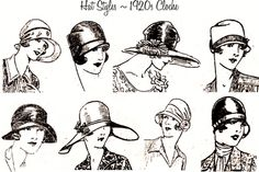 Tuppence Hapenny: {Hat Week} A Brief History of 20th Century Hats (part 1)