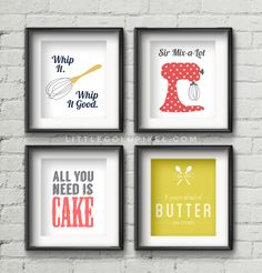 Typography Food 24 Tasty Ways To Decorate Your Kitchen Walls Via