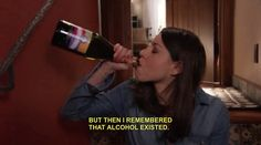 On developing socially acceptable coping mechanisms: | 28 April Ludgate Quotes That Perfectly Sum Up Adult Life