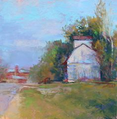 Road to Shannon by Julie Skoda Pastel ~ 12 x 12