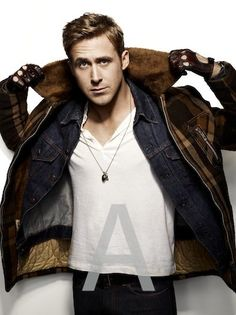 Ryan Gosling - if you haven't seen Drive, go do it right now!