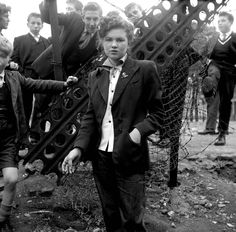 """I have long been obsessed with Teddy Girl style. Teddy Girls emerged in the as girl """"gangs"""" in England. For the first time, teenagers were developing their own sense of style instead of dressing like miniature adults. Teddy boys and girls were a."""