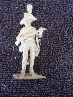 Stadden 54mm Prussian Hussarier Trooper 1757 Soldier Metal Military Figure #Stadden