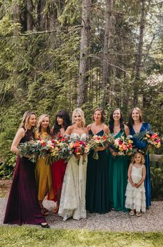 Boho Inspired West Coast Wilderness Lodge Wedding — Caroline & Colin (with video) — Vancouver Wedding Photographer & Videographer - WestCoastWildernessLodgeWedding,-WestCoastWedding-SunshineCoastBC-JenniferPicardPhotography-Vancouv - Bridesmaid Dresses Under 100, Tulle Bridesmaid Dress, Mismatched Bridesmaid Dresses, Wedding Bridesmaids, Green Bridesmaids, Green Wedding Dresses, Wedding Attire, Boho Wedding, Dream Wedding