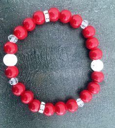 Red 8mm bracelet 🍓