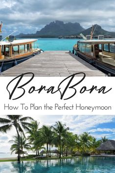 Our Bora Bora Honeymoon: How to Plan Your Vacation to Paradise #borabora #honeymoon https://www.busywifebusylife.com/travel/bora-bora-honeymoon/
