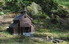 Kaple Panny Marie (Stožec) Dalších 59 modelů českých památek čeká v Parku Boheminium. Skvělé místo pro výlet! Mario, House Styles