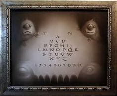 a show of ouija boards and