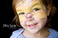 Easter Face Paint - Baby Chick