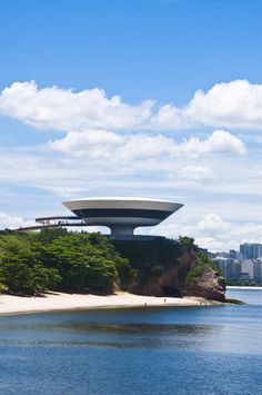 Oh Oscar! You did it again. Another amazing building from the mind of Oscar Niemeyer.