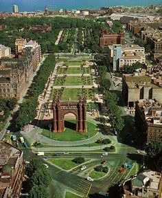 Arc deTriomf in Barcelona - Catalonia, Spain